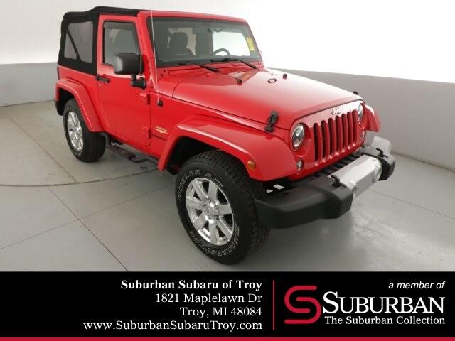 Used 2015 Jeep Wrangler Sahara SUV Troy Mi