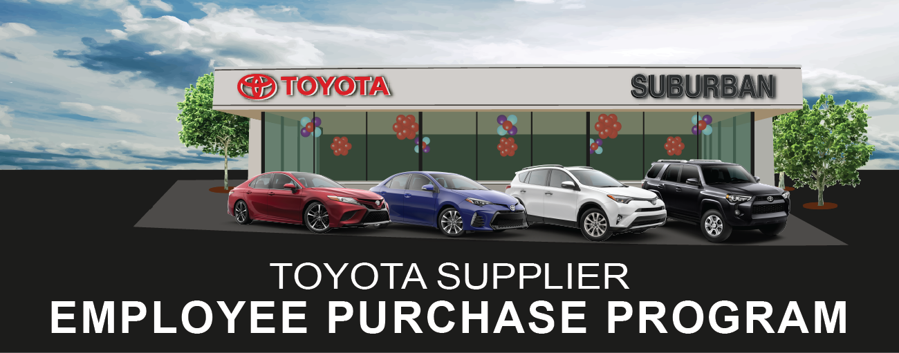 Toyota Supplier Employee Purchase Program