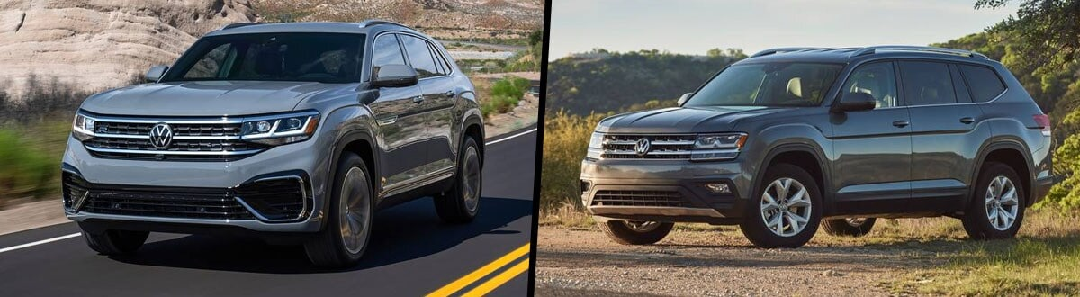 2020 Volkswagen Atlas Cross Sport vs 2020 Volkswagen Atlas