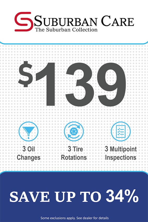 Ford Oil Change Coupon >> Service Specials In Waterford Mi At Suburban Ford Of