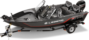 2019 Legend Boats 16 XTR full windshield