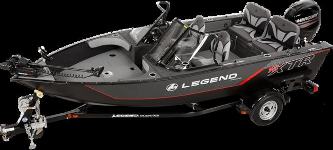 2019 Legend Boats 16 XTR full windshield