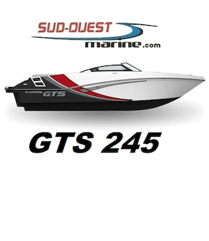 2020 GLASTRON GTS 245 open deck GTS