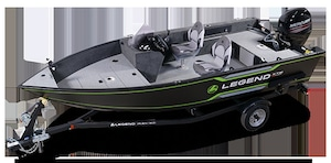 2019 Legend Boats 16 XTE sc side console