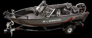 2019 Legend Boats 18 XTR XTR PARE BRISE
