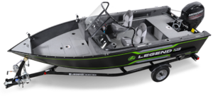 2019 Legend Boats 16 XTE Full windshield