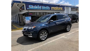 2013 Acura MDX Elite Pkg LEATHER ROOF NAV CAMERA DVD LOADED
