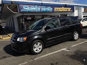2012 Dodge Grand Caravan Crew NAV/ CAM/ HEATED SEATS AND STEERING