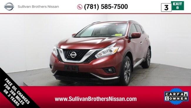 2016 Nissan Murano SV SUV