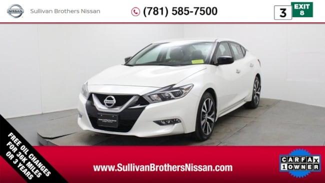 2016 Nissan Maxima 3.5 S Sedan