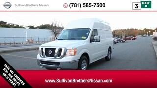 2018 Nissan NV Cargo NV3500 HD SL Van High Roof Cargo Van