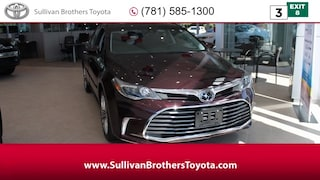 New 2018 Toyota Avalon Sedan
