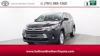 New 2019 Toyota Highlander Hybrid Limited SUV