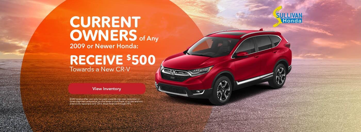 Owners Honda Com >> Sullivan Honda New Used Honda Dealer In Torrington Ct