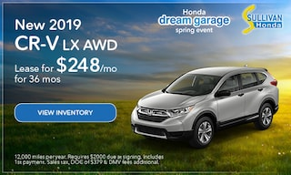 2019 CR-V LX AWD Lease
