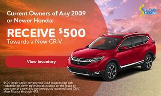 New Honda CR-V Models