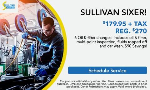 Sullivan Sixer Special