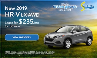 2019 HR-V LX AWD Lease
