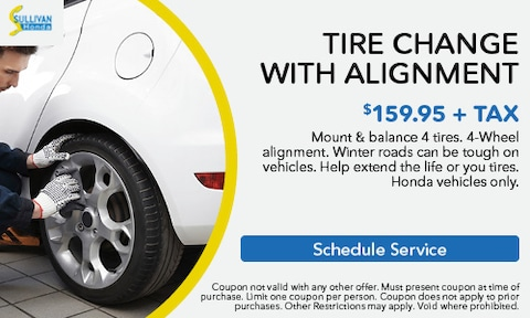 Tire Change with Alignment