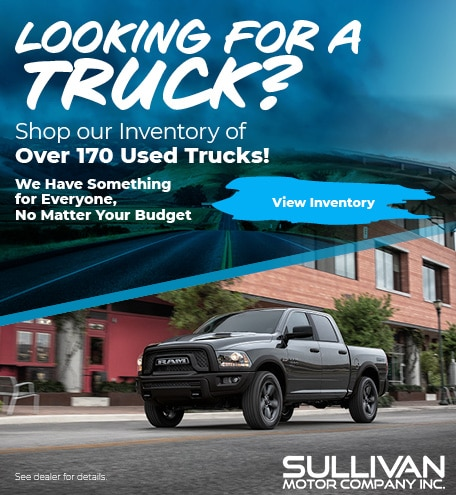 Looking for a Truck?
