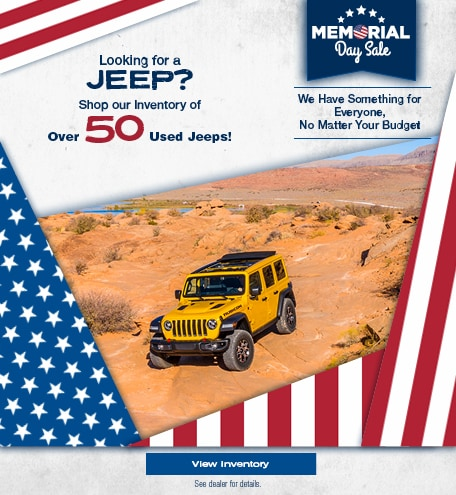 Looking for a Jeep - May