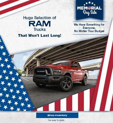 Huge Selection of Ram Trucks - May