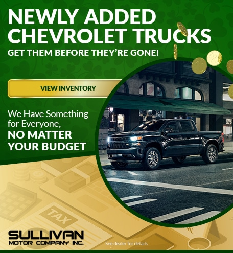 Newly Added Chevrolet Trucks
