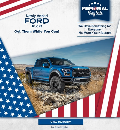 Newly Added Ford Trucks - May