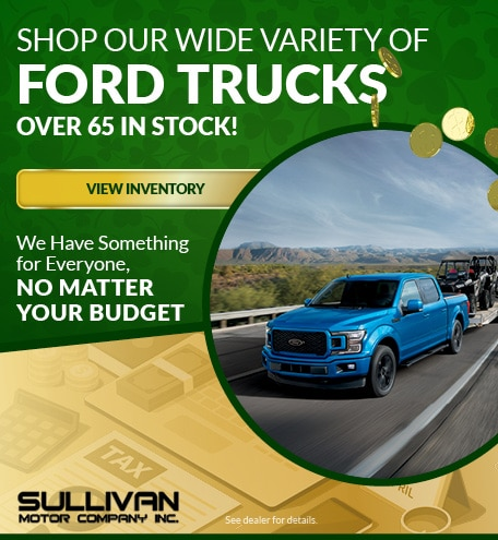 Shop our Wide Variety of Ford Trucks