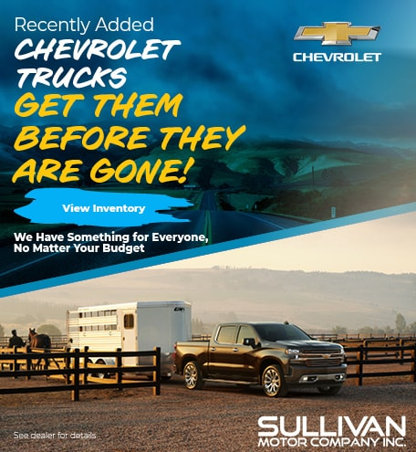 Recently Added Chevrolet Trucks
