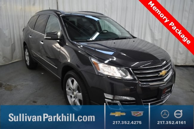 Used 2016 Chevrolet Traverse LTZ SUV For Sale Champaign, IL