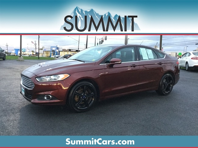Certified 2016 Ford Fusion SE Sedan Auburn, NY