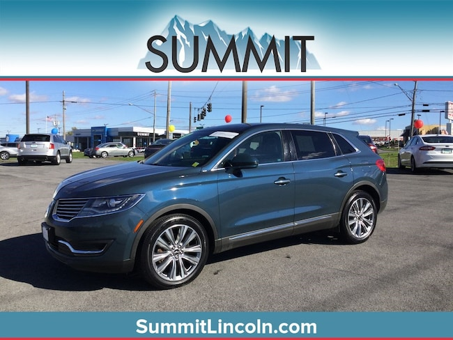Certified 2016 Lincoln MKX Reserve SUV Auburn, NY