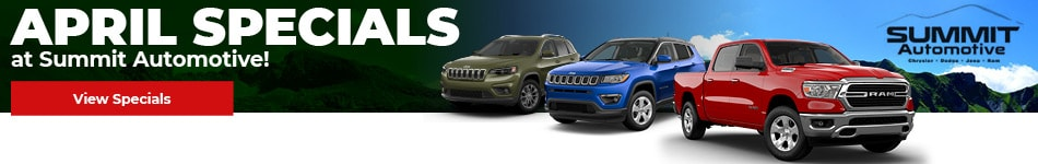 New Vehicle Specials April - Summit CDJR