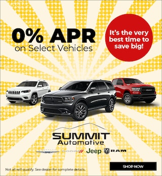 July 2019 0% APR on Select Vehicles