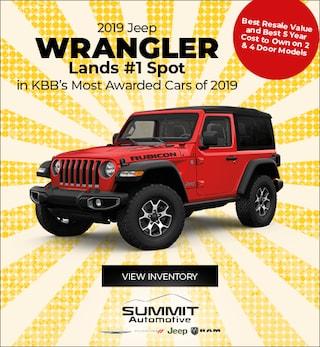July 2019 Jeep Wrangler