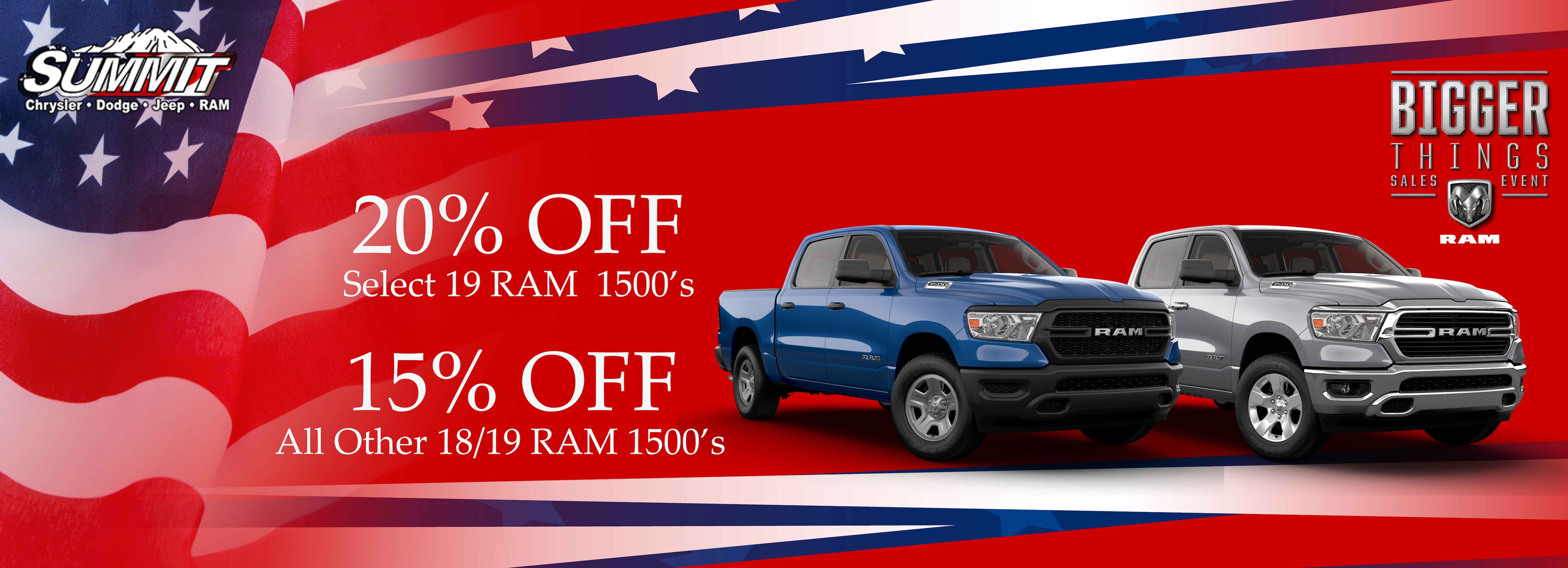 Ram Model Offers