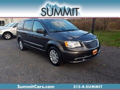 Certified 2015 Chrysler Town & Country Touring Van for Sale in Oneida
