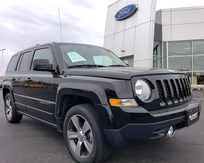 2016 Jeep Patriot HIGH ALTITUDE-HEATED SEATS-FWD-REMOTE START-BLACK SUV