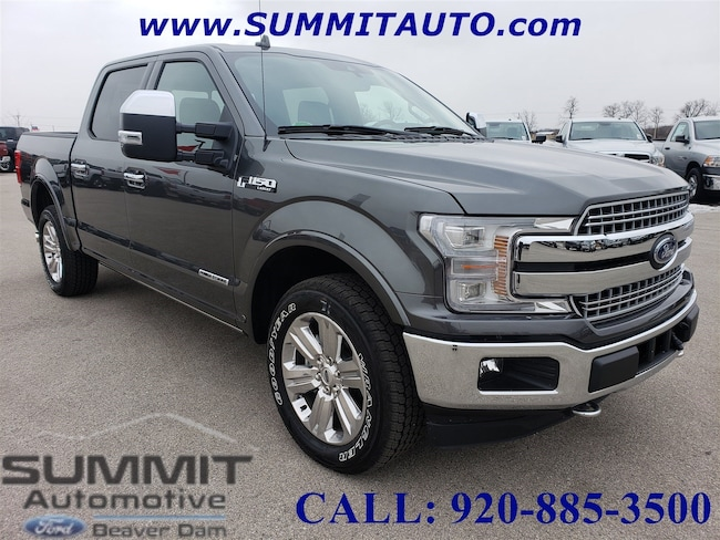 2018 Ford F150 4x4 SuperCrew Lariat Truck SuperCrew Cab
