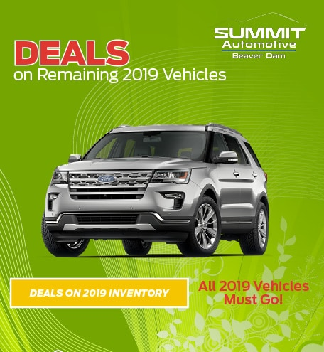 March Deals on Remaining 2019 Vehicles