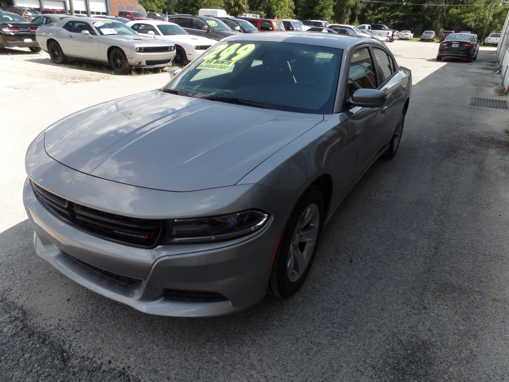 2018 Dodge Charger SXT PLUS RWD Sedan