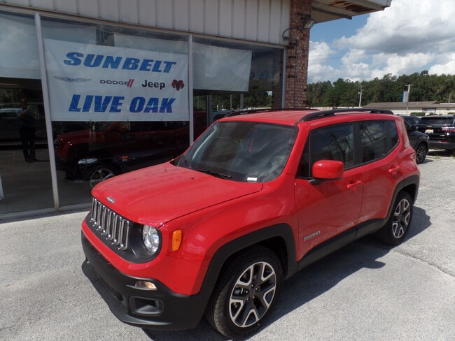 New 2018 Jeep Renegade LATITUDE FWD Sport Utility in Live Oak
