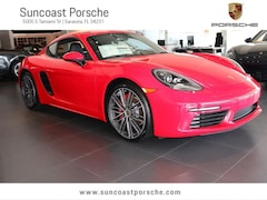 2017 Porsche 718 Cayman S Executive Demonstrator Vehicle Coupe