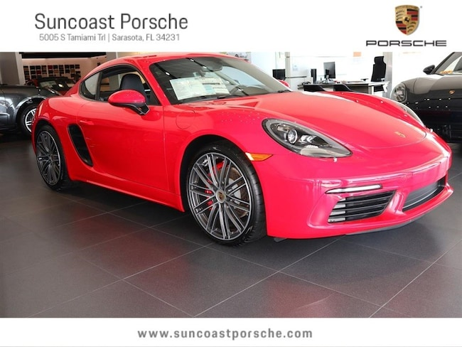 2017 Porsche 718 Cayman S Executive Demonstrator Vehicle Coupe
