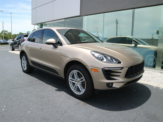 2017 Porsche Macan 4DR AWD Executive Demonstrator Vehicle SUV