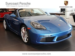 2017 Porsche 718 Boxster S Executive Demonstrator Vehicle Cabriolet