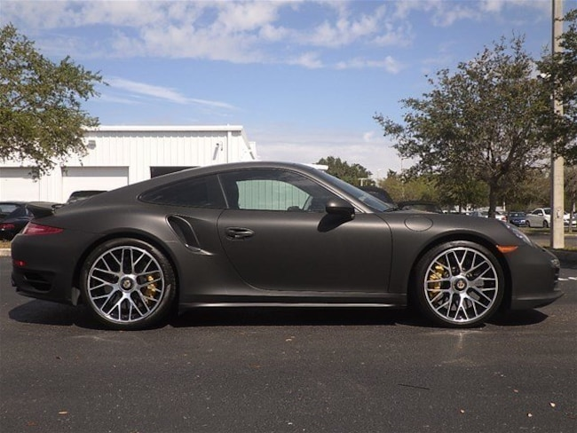 2016 Porsche 911 Turbo S Coupe