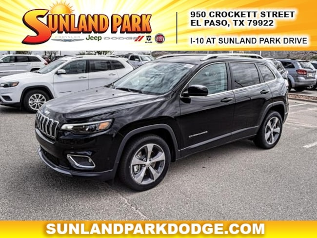 new 2019 jeep cherokee limited fwd for sale el paso tx. Black Bedroom Furniture Sets. Home Design Ideas