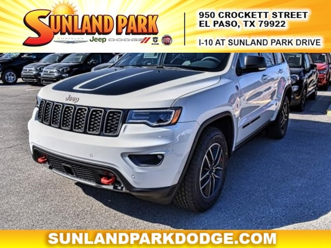 new 2019 jeep grand cherokee trailhawk 4x4 for sale el. Black Bedroom Furniture Sets. Home Design Ideas
